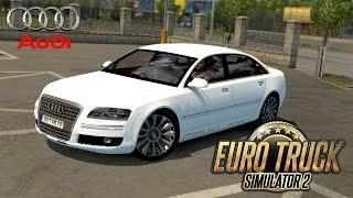ETS 2 Audi a8 and Passenger Mod