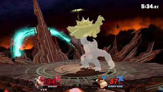 Bowser vs Donkey Kong - Super Smash Bros. Ultimate - Switch