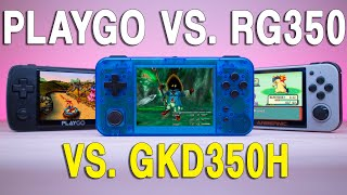Which Retro Handheld Should You Buy? - RG350 vs. PlayGo vs. GKD350H