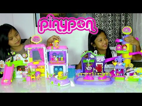 Pinypon Theme Park, Pinypon Shopping Center and Car - Kids Toys