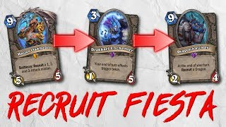 RECRUITING 5 MINIONS ON THE SAME TURN? Fair... - Standard Constructed - The Witchwood