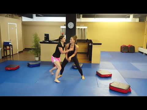 Anna vs Seville (Pt 2) - Women of Sports Tai Chi Push Hands - MOVING STEP STYLE