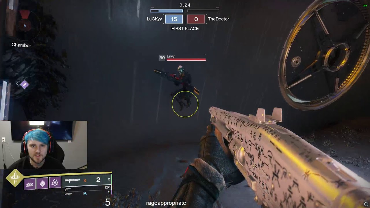 AN ALL AFK RUMBLE!? BUNGIE NEEDS TO FIX THIS!