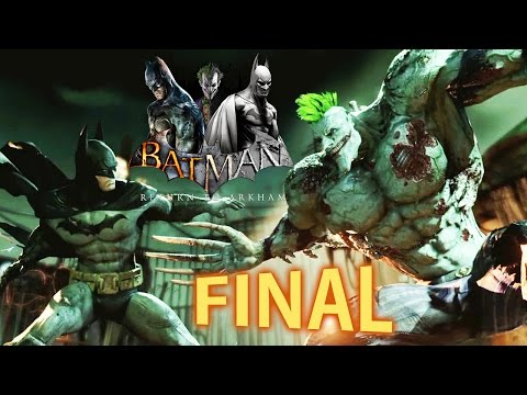 Batman Return to Arkham - Arkham Asylum - FINAL ÉPICO!!! [ PS4 Pro - Playthrough ]