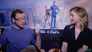 Griffin Newman and Valorie Curry on Balancing Drama and Comedy in 'The Tick'