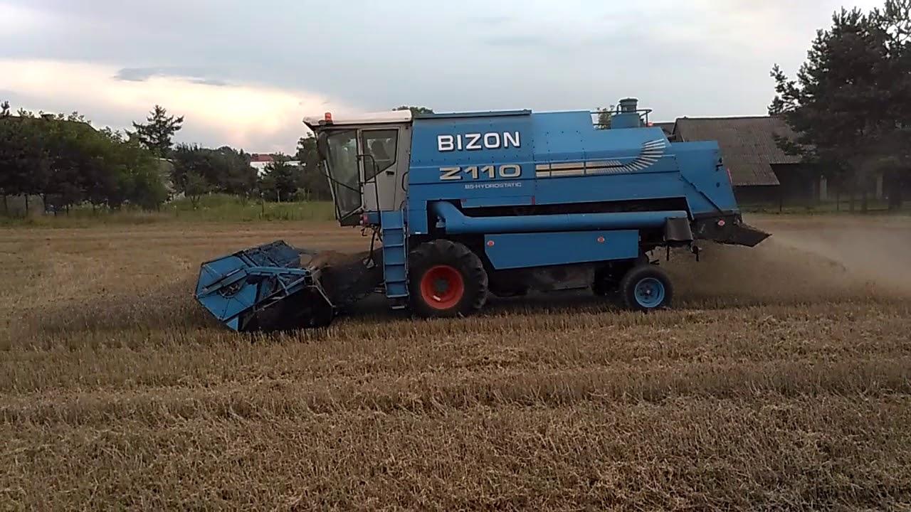 Bizon BS Z110 Żniwa 2018 woj małopolskie