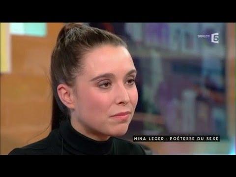 Nina Léger, poétesse - C à vous - 10/01/2017