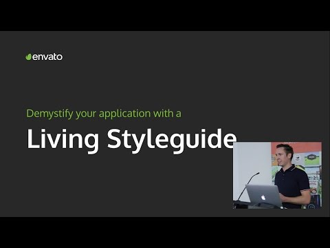 Jordan Lewis - Demystify your application with a living styleguide