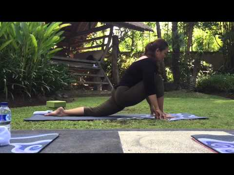 yin yoga  dragon pose sequence  youtube