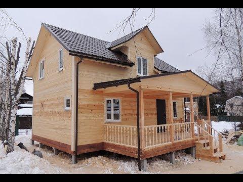 Строительство дома из бруса | под ключ