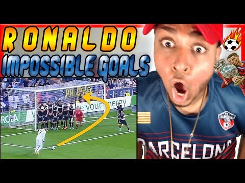 AMERICAN WATCHES Cristiano Ronaldo 10 GREATEST Goals Ever Reaction Soccer skills zlatan ibrahimovic