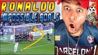 AMERICAN WATCHES Cristiano Ronaldo 10 GREATEST Goals Ever Reaction Soccer skills zlatan ibrahimovic