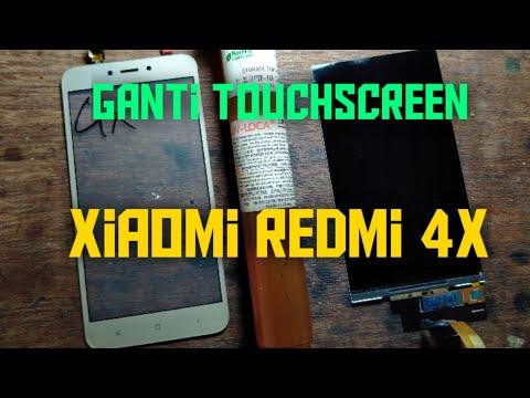 Ganti Touchscreen Xiaomi Redmi 4x