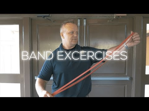 SIMPLE BAND EXERCISES TO BECOME A BETTER GOLFER