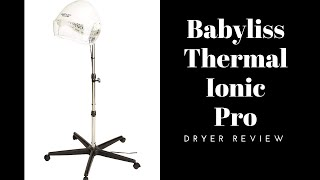 Product Celebration!!  The Babyliss Thermal Ionic Hard Hat Dryer... (and a formal Thank you!!)