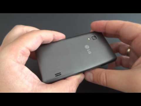 LG Optimus L5 II unboxing