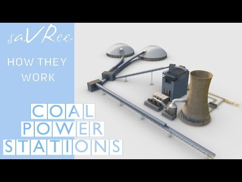 How Coal Fired Thermal Power Stations Work