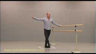 Ballet Lesson - Ronde de jambe en l