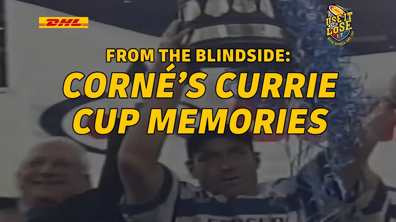 Corné compares playing in and winning Currie Cup finals | Use It or Lose It