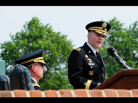 Retirement Ceremony for Army Maj. Gen. David B. Lacquement