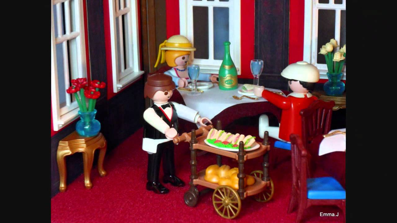 Playmobil By EmmaJ  Bistro De Paris  YouTube