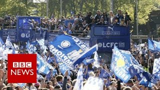 Watch as leicester city fc parade their premier league trophy (in 306 video) in front of adoring fans.please subscribe here http://bit.ly/1rbfuogislami...