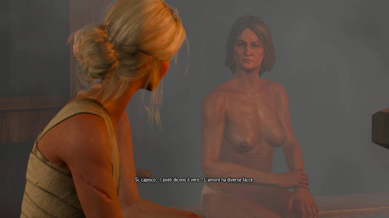 3 ciri nude witcher The Witcher