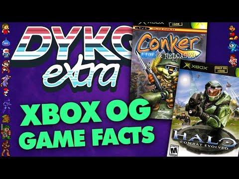 Xbox Games Facts - Did You Know Gaming? Feat. Greg