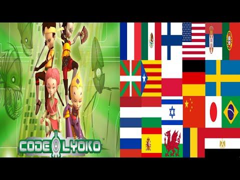 Code Lyoko theme song multilanguage dedicated & requested Tom superbizz