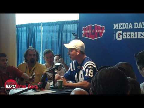 Super Bowl XLIV Media Day