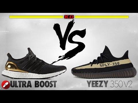 Yeezy 350 V2 vs. adidas Ultra Boost