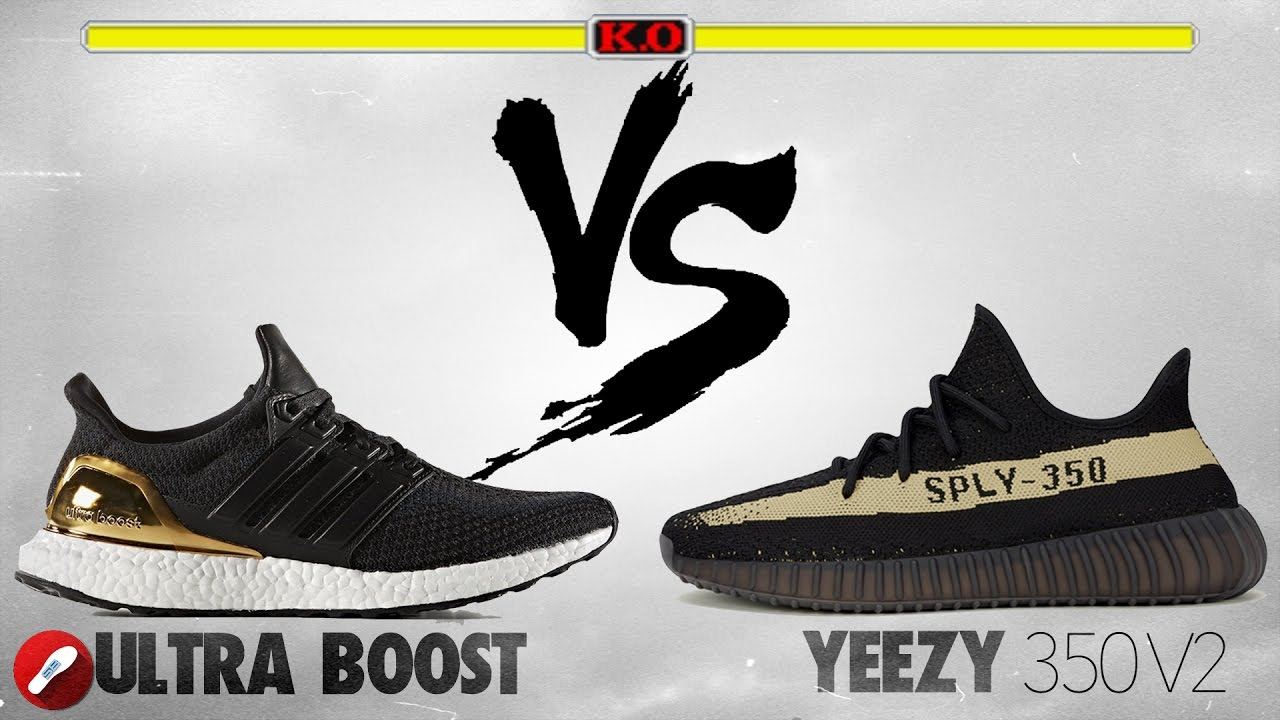 new concept 61e5d aeff1 Adidas Ultra Boost vs Yeezy 350 v2!