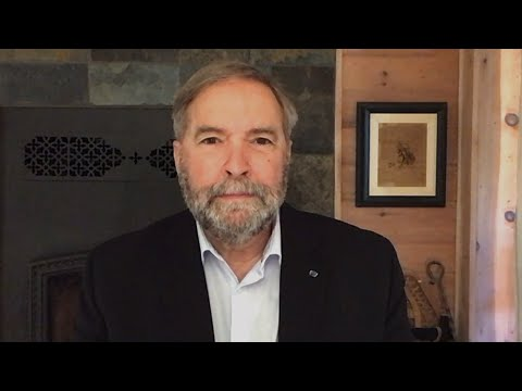 Who has the most to lose in first election debate? Mulcair weighs in