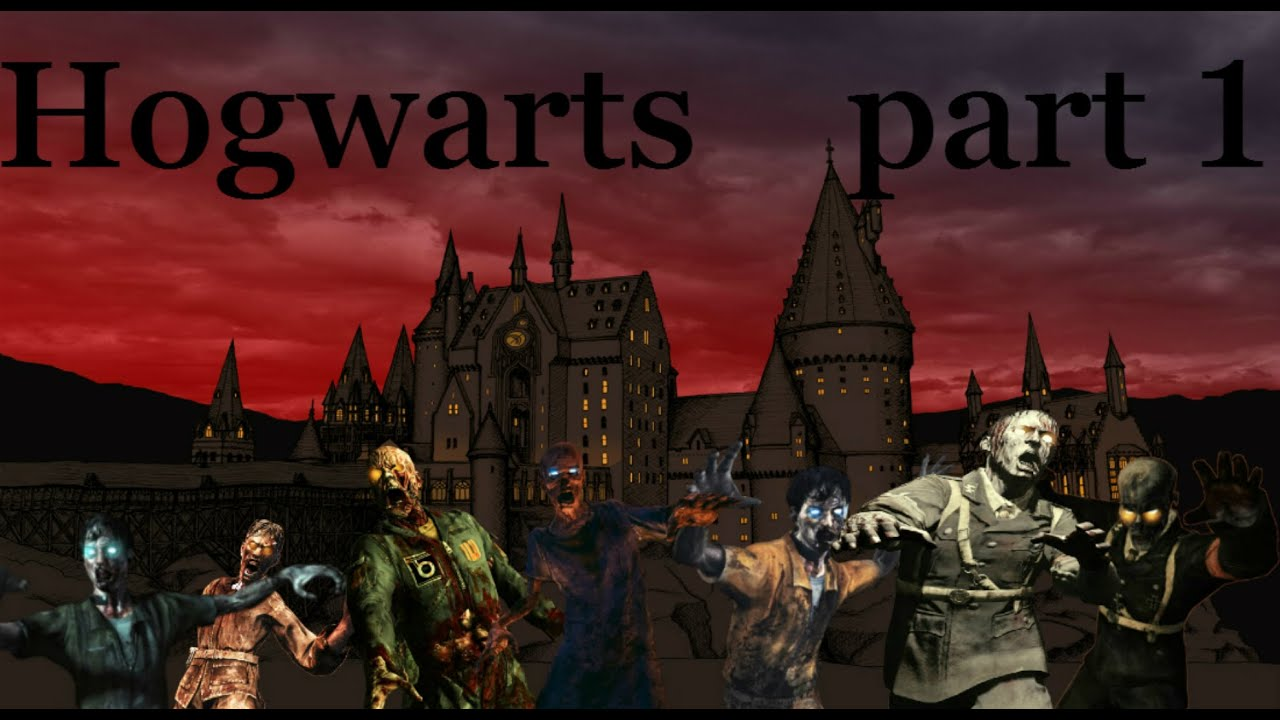 Hogwarts HARRY POTTER IN CALL OF DUTY!!! part 1 solo complete ...