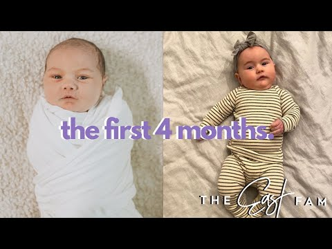 The First 4 Months | The East Family