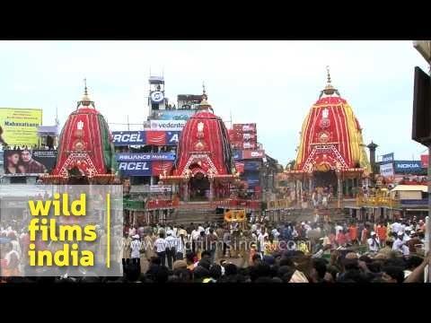 Annual Lord Jagannath Rath Yatra in Puri, Odisha