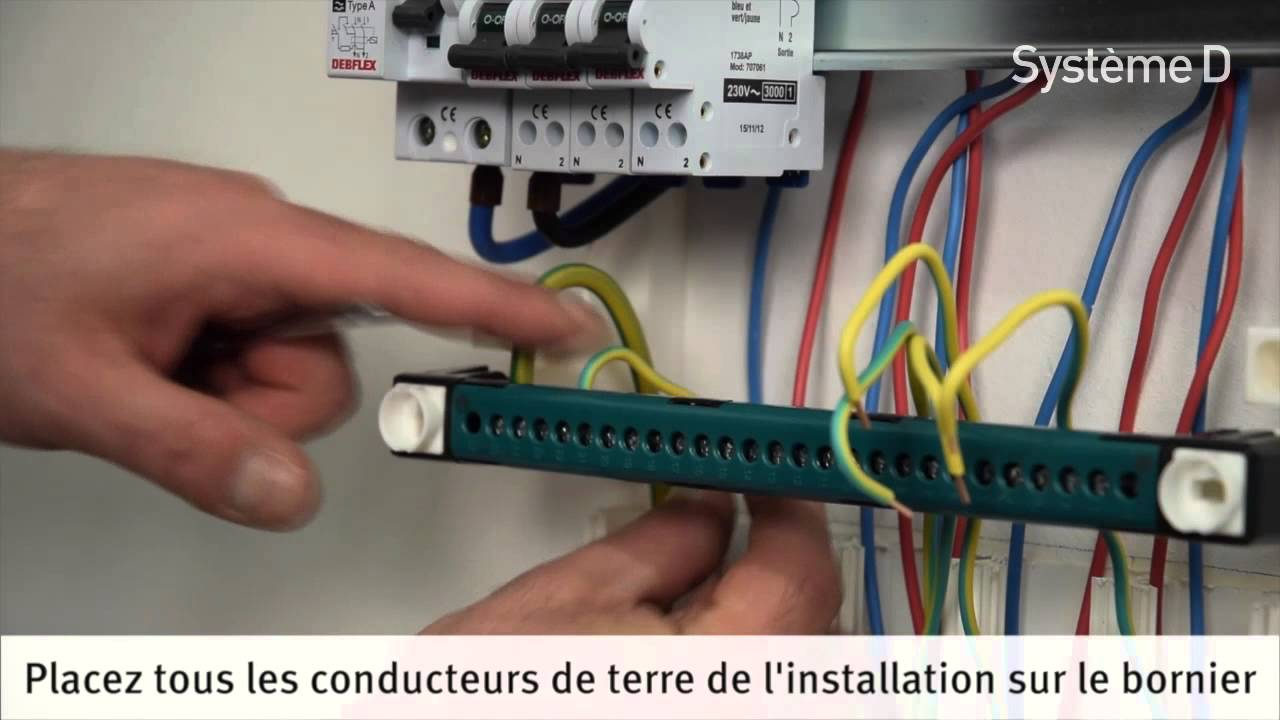 Installer Un Tableau 233 Lectrique Pr 233 233 Quip 233 Youtube