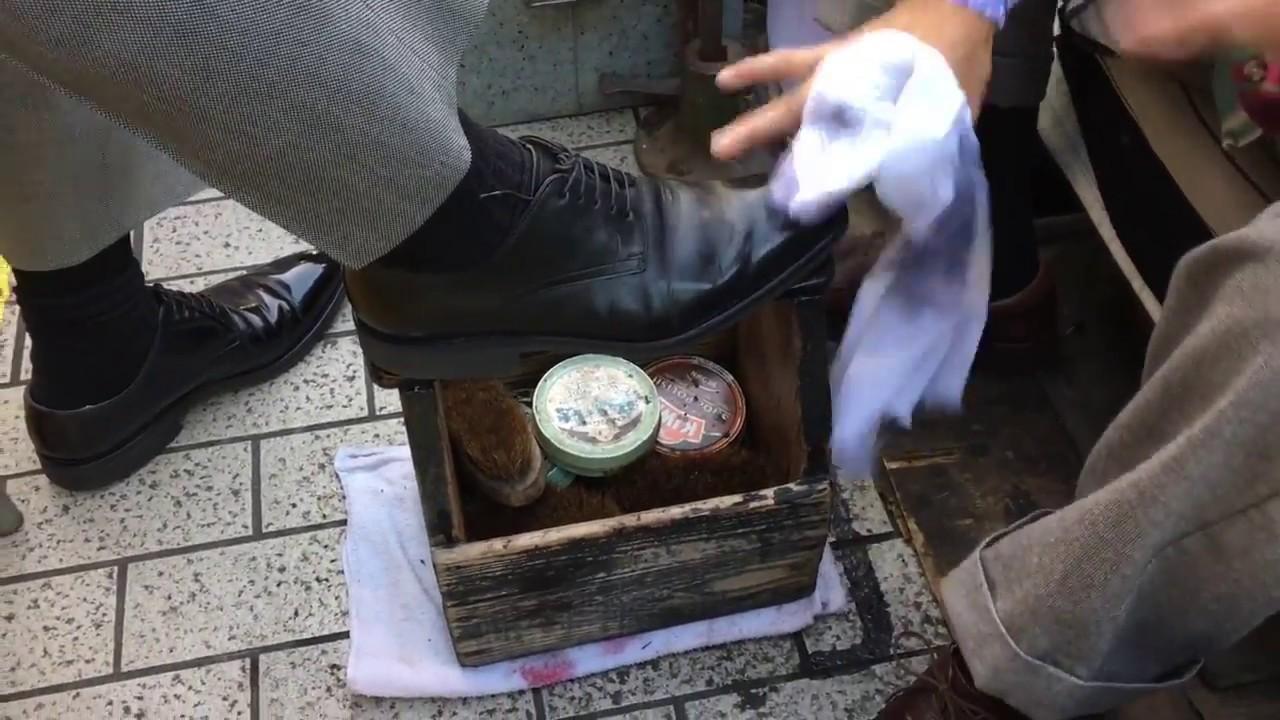 「プロフェッショナル 靴磨き」の画像検索結果