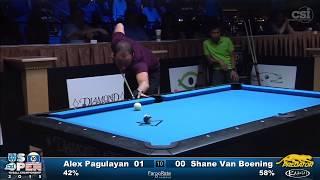 2015 US Open 10-Ball: Alex Pagulayan vs Shane Van Boening