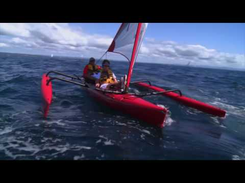 Showloop: Hobie Mirage Island Sail Kayaks