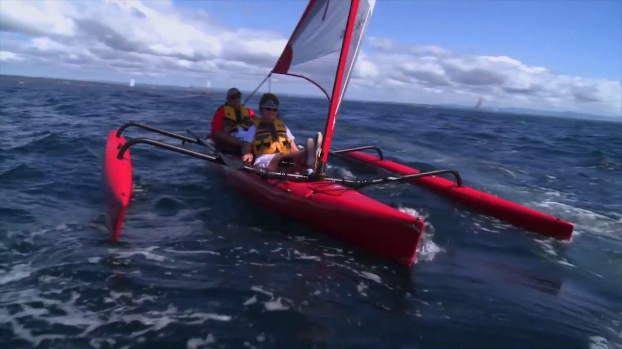 Showloop Hobie Mirage Island Sail Kayaks