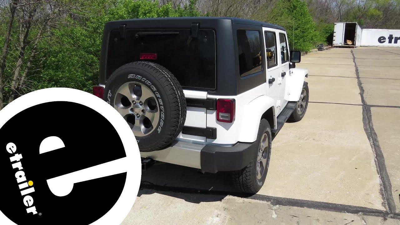 medium resolution of trailer wiring harness installation 2016 jeep wrangler unlimited