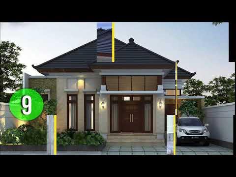 Contoh Model Rumah Minimalis Modern Mewah 1 Lantai Lebar 8 15 Meter Terbaru 2019