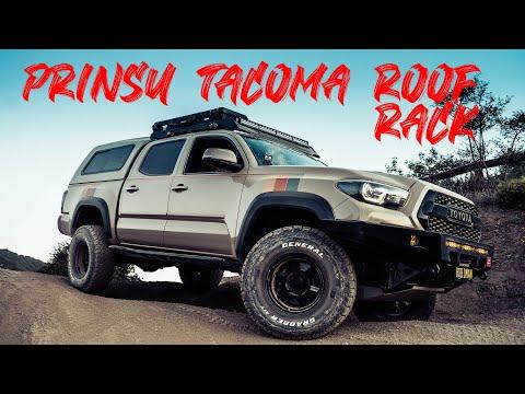 Prinsu Design Studio Cabrac DIY Toyota Tacoma 2005 - 2018 installation  Roof Rack