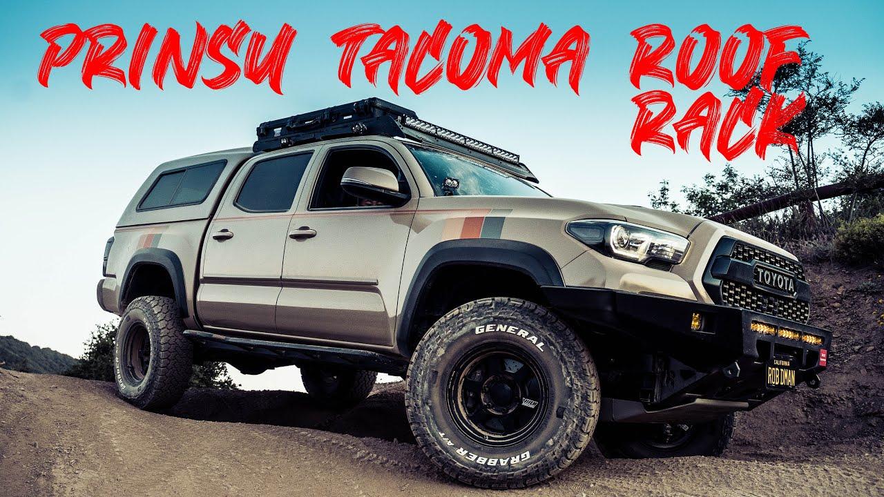 Best Roof Rack for your Toyota Tacoma - Prinsu Design Studio Cabrac