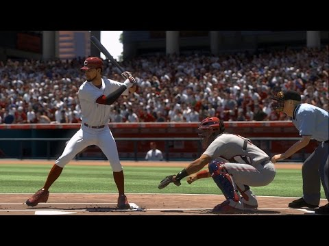 MLB The Show 17 - Louisville Bats vs Cincinnati Reds | Gameplay (PS4 Pro HD) [1080p60FPS]