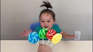 Finger Family of Lollipops | Learn Colors