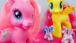 Мой маленький пони. Дружба - это чудо мультик с игрушками. Поиски волшебного подарка.(Маленькие лошадки пони из мультсериала