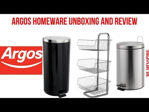 ARGOS HOMEWARE UNBOXING AND REVIEW~ 3 ARGOS HOME ESSENTIALS