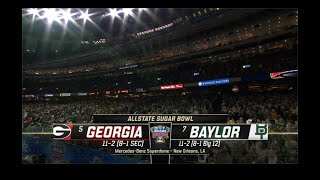 2020 Sugar Bowl - Georgia vs Baylor - Full Game